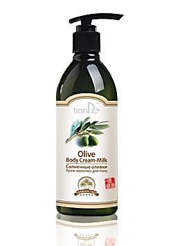 """Крем-молочко для тела «Солнечные оливки», серия """"Hainan Tao"""""""
