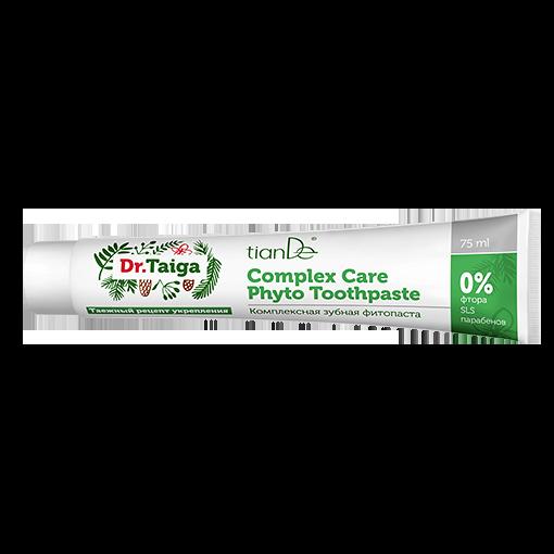 Комплексная зубная фитопаста Dr.Taiga